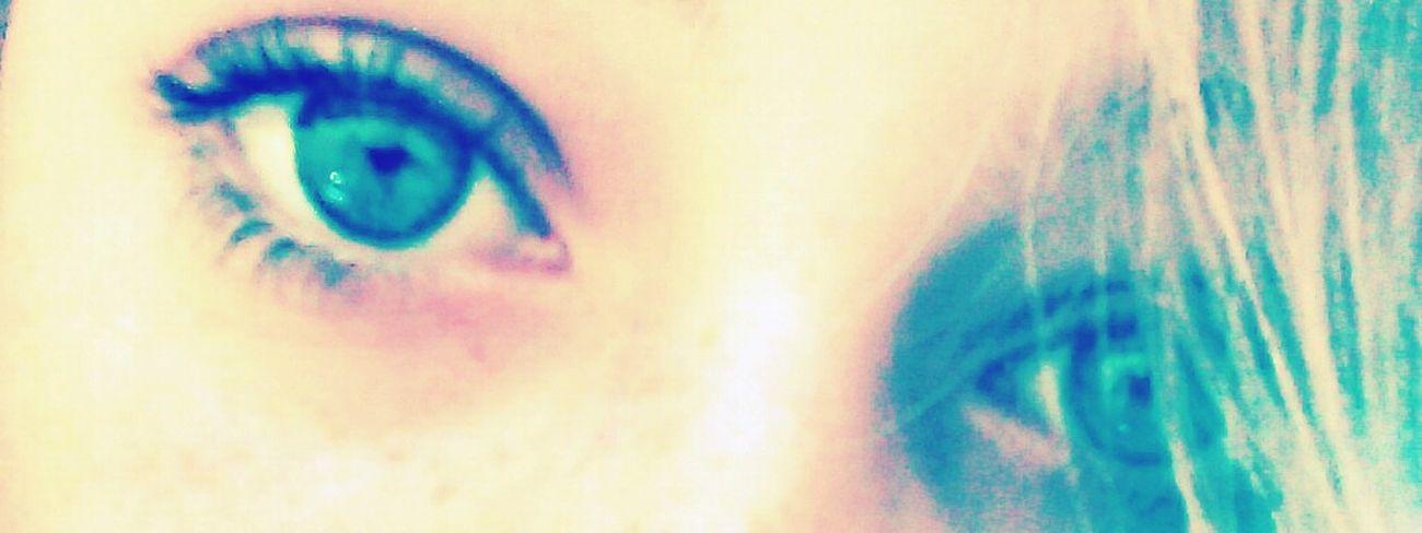 I hate my eyes so i post alot of stuff about eyes i want