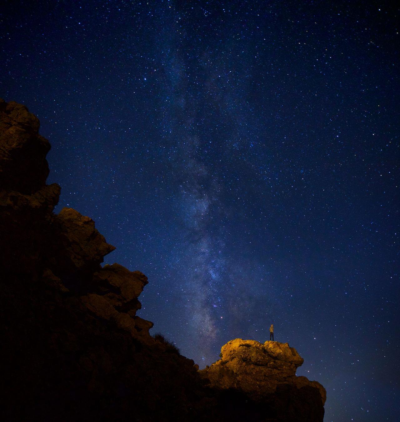 Beautiful stock photos of galaxy,  Beauty In Nature,  Blue,  Galaxy,  Greece