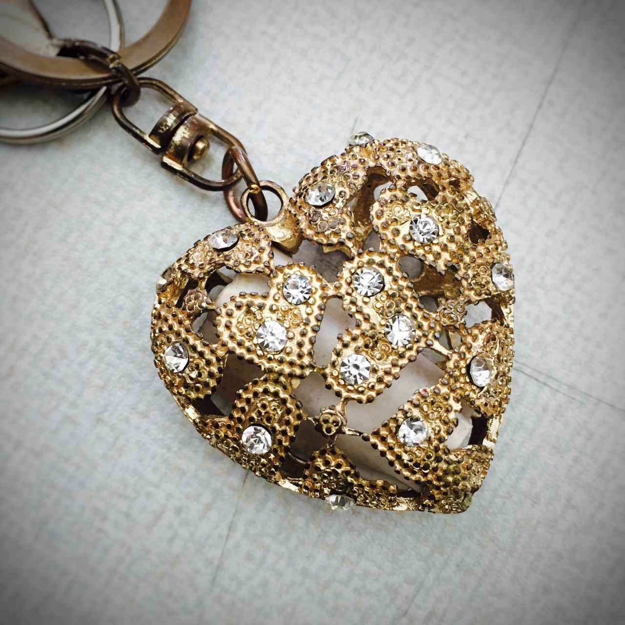 43 Golden Moments Gold Heart Key Chain Heart Of Gold