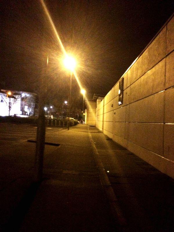 Architecture Lighting Equipment Illuminated No People The Way Forward Night