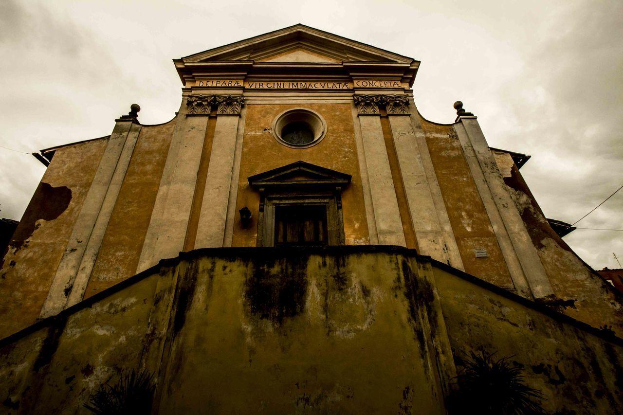Monument Chiesa Church Monumenti History Cerveteri Roma Porta Scalinata Facciata Cielo