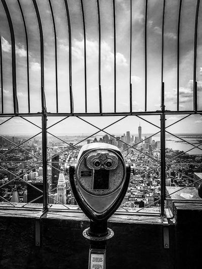 Empire State Cityscape New York City