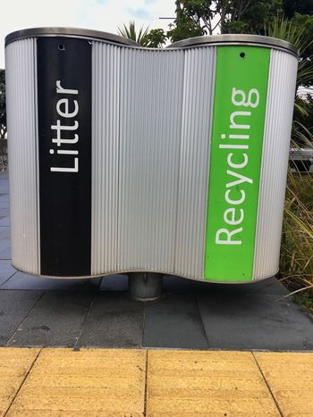 Litter and recycling bins City Rubbish Bins Rubbish Bins Recycling Bin Recycling Litter Bin Litter Text