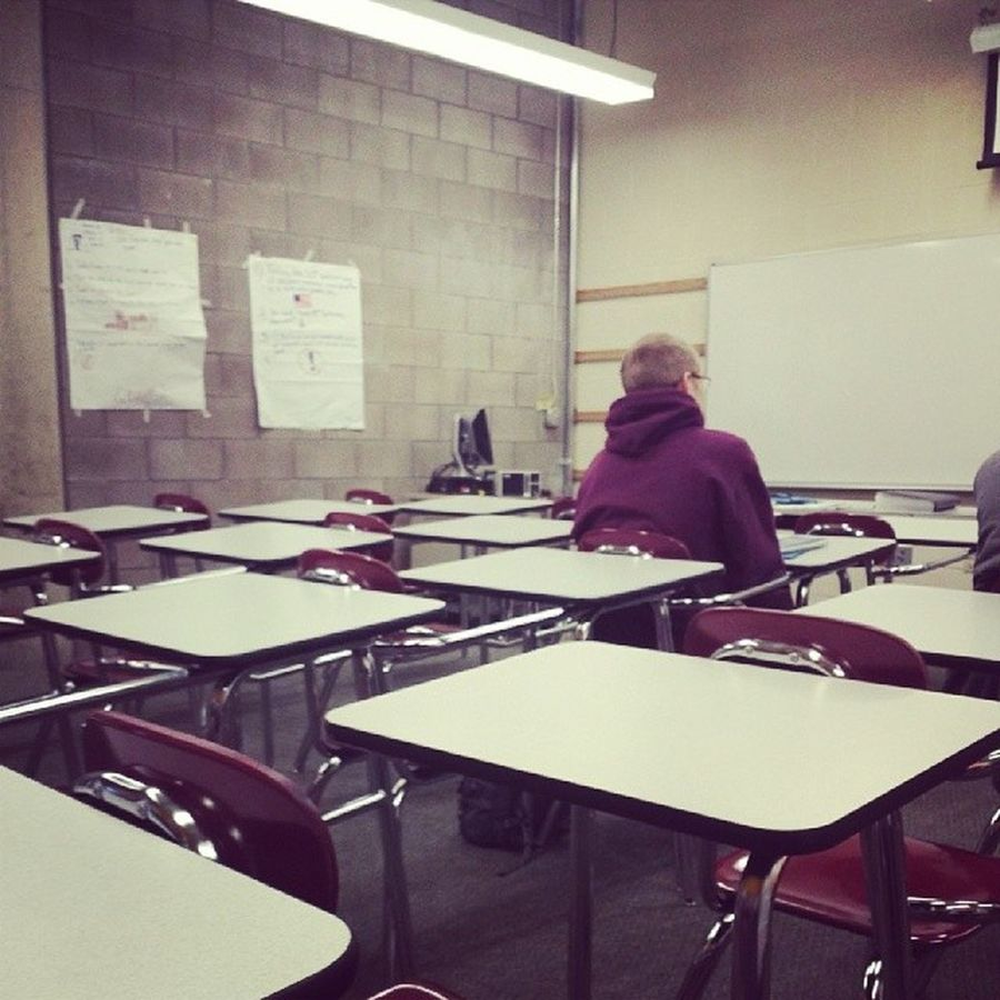Class TooEarly Noshow I guess no one wanted to come to class today
