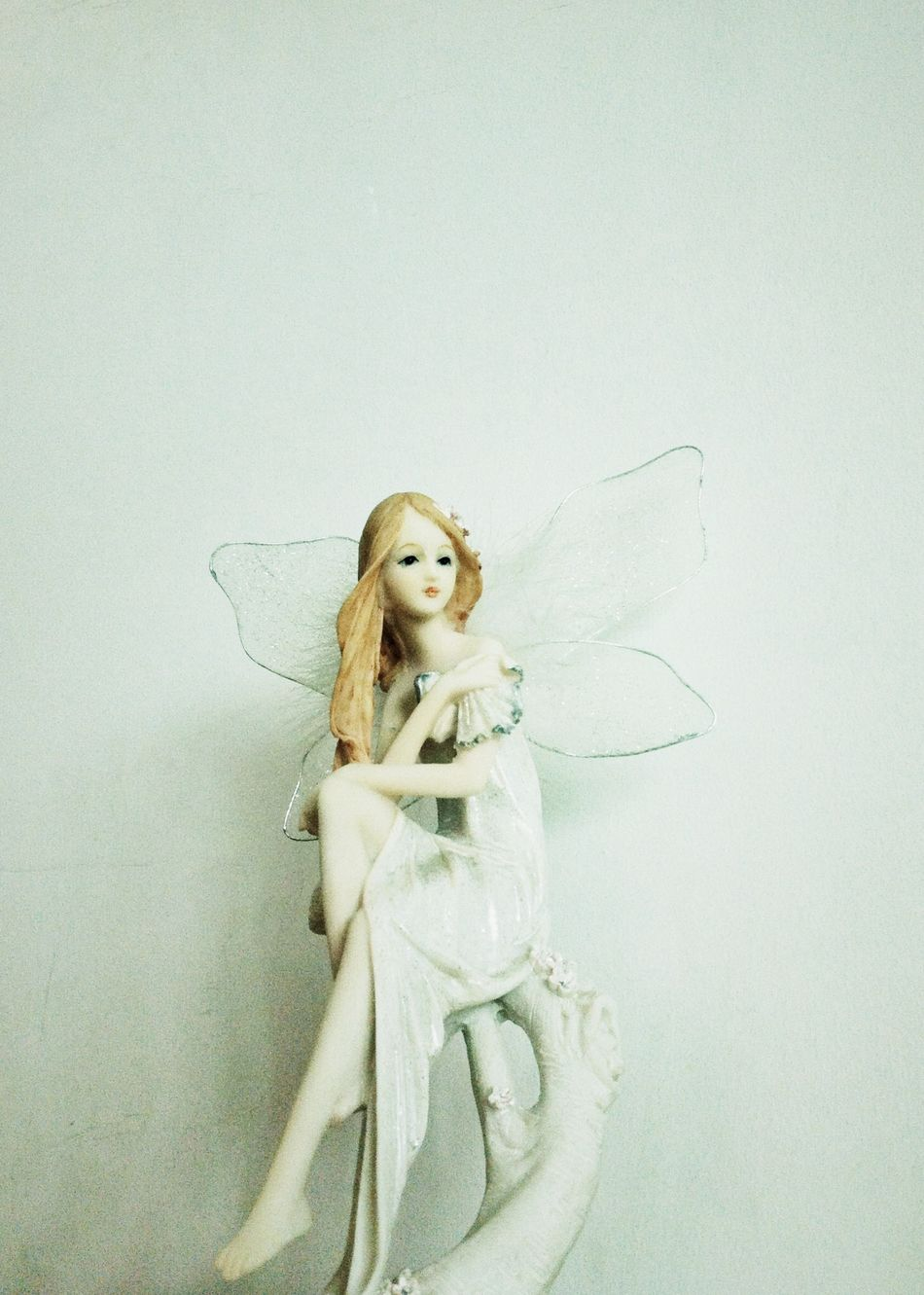 Another fairy with wings. Fairy Toy White