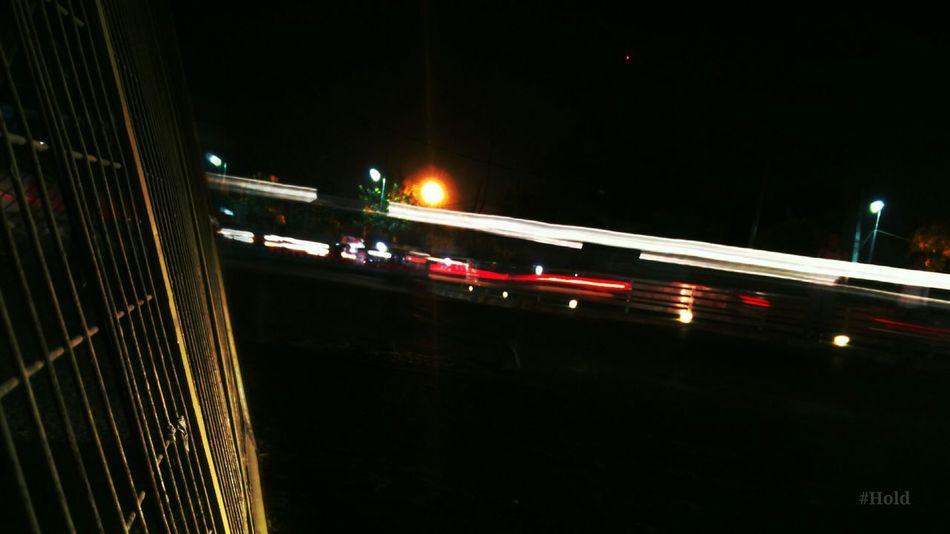 Light Trails Night Lights Barcade City Agitation