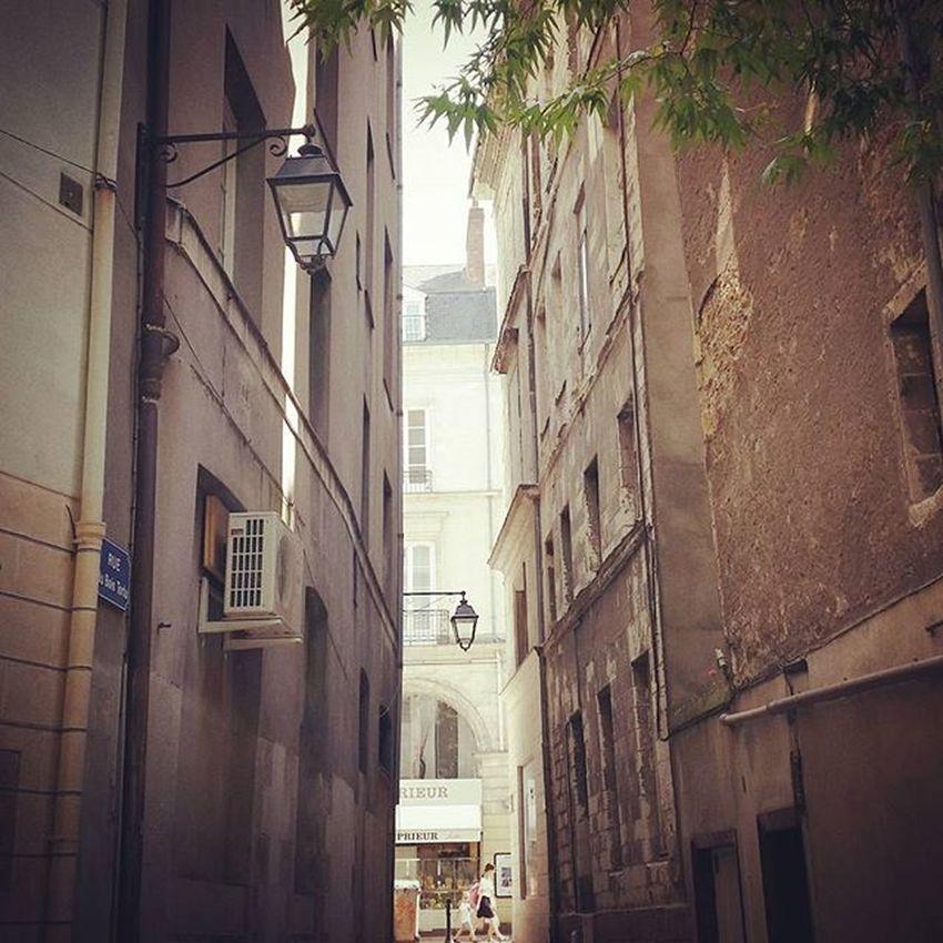 Nantes Ville City Balade Street Charme Rue Lumière