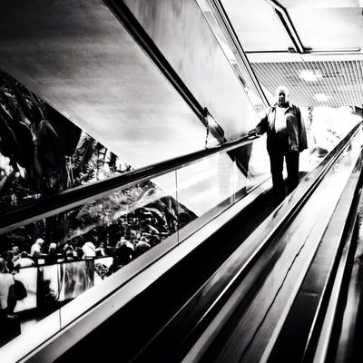 AMPt - Shoot or Die at Estación de Madrid-Puerta de Atocha by Miguel Cano