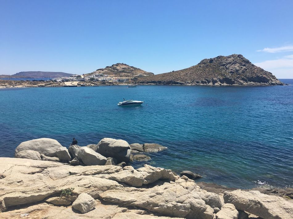 Nature Peaceful Lanscape Photography Beautiful Day Mykonos Greece Cyclades_islands Summer