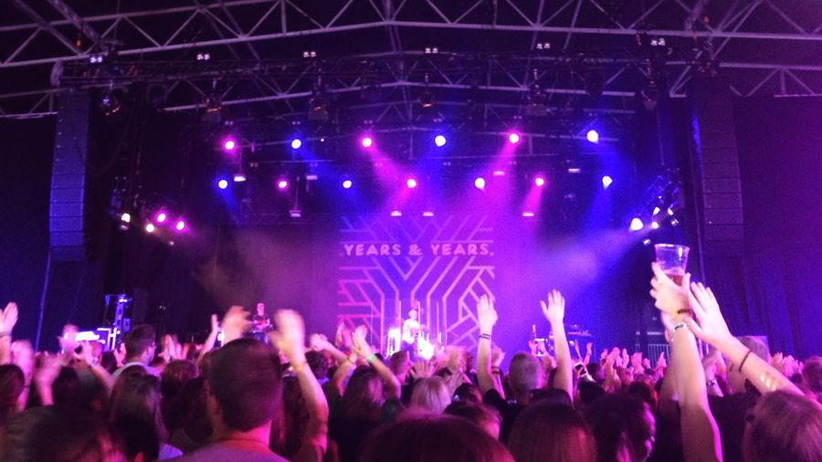 Years & Years Oslo Øyafestivalen Tøyenparken Music Live Music Gig Audience Crowd 2015