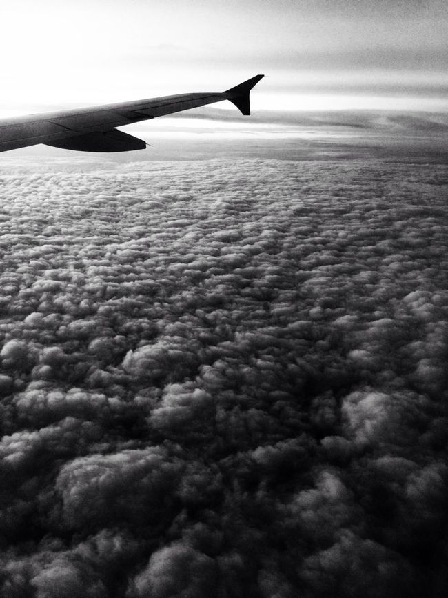 Blackandwhite Clouds And Sky Black And White