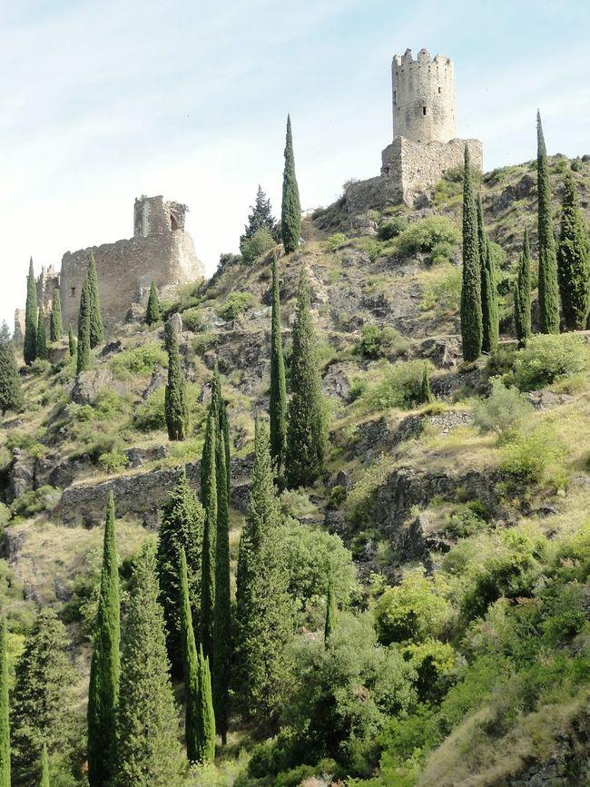 France Les Quatre Chateaux De Lastours Historical Sights Streetphotography Traveling Ancient Ruins