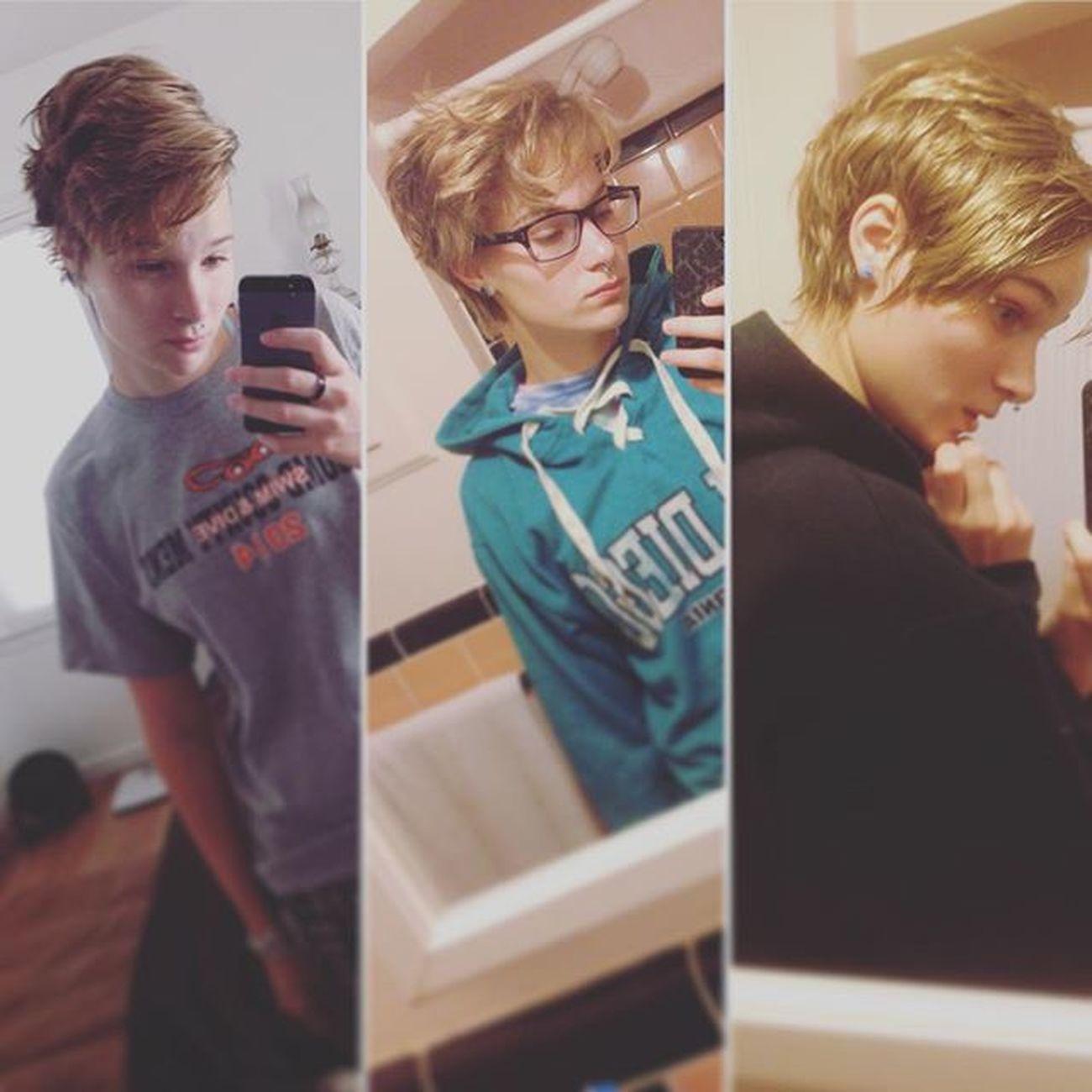 Look how long my hair has gotten!!! Selfie Mirrorselfie Hair Length Oh Okay Month Hairgrowth Me Progress Yay Growing Hairlength Shorthair Growinghairout Hairgrowingout Hairgrowinglonger Hairgrowinglikecrazy Alywashere