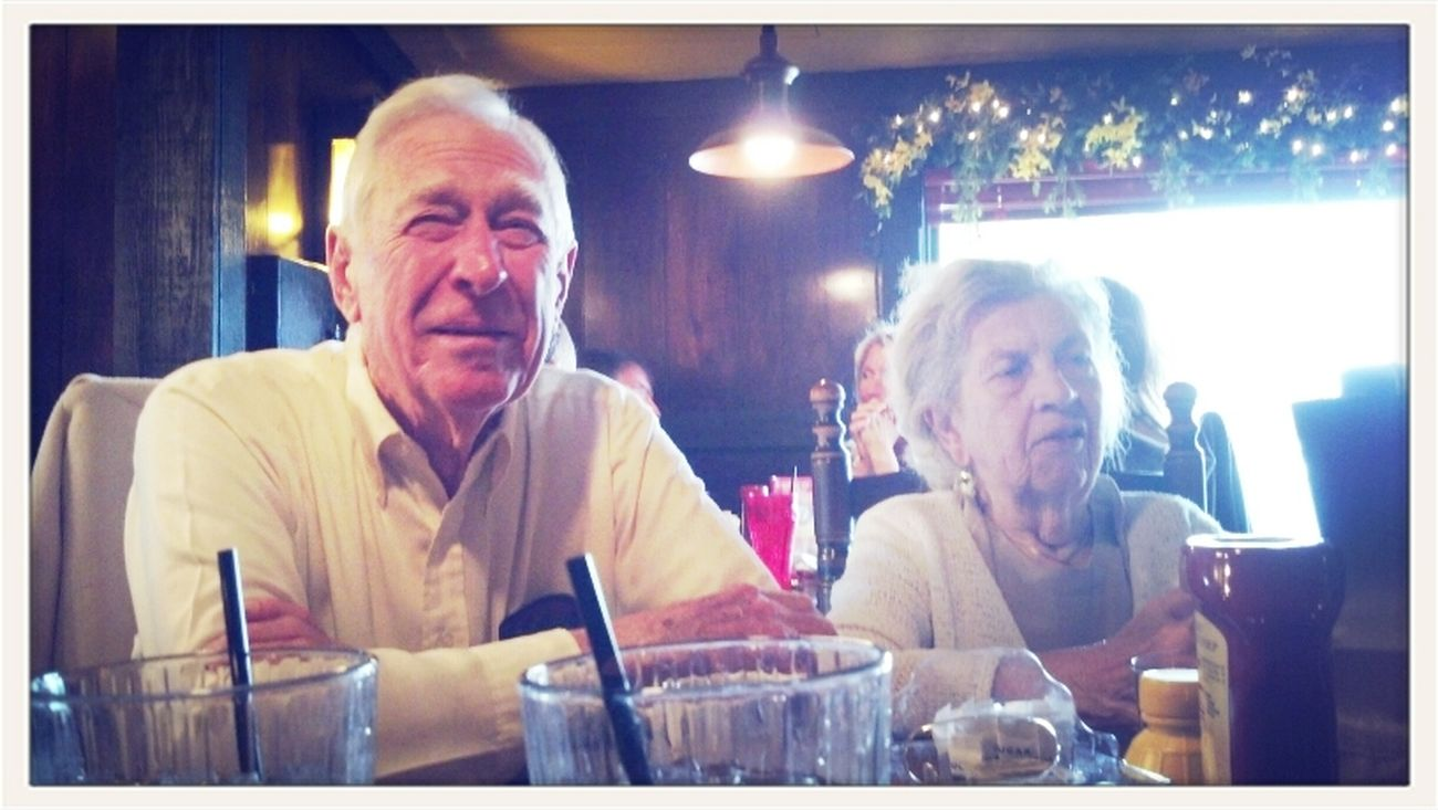 Grandpa & Grandma Childers