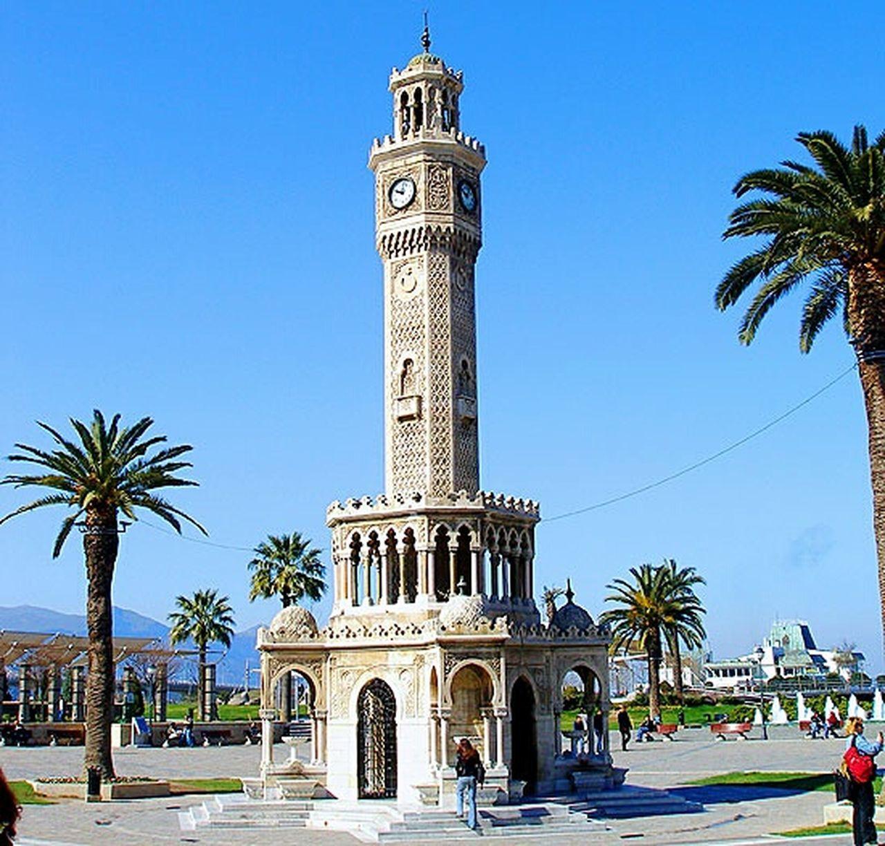 İZMİR Clock Tower Izmir City Clocktower Outdoors Architecture Day