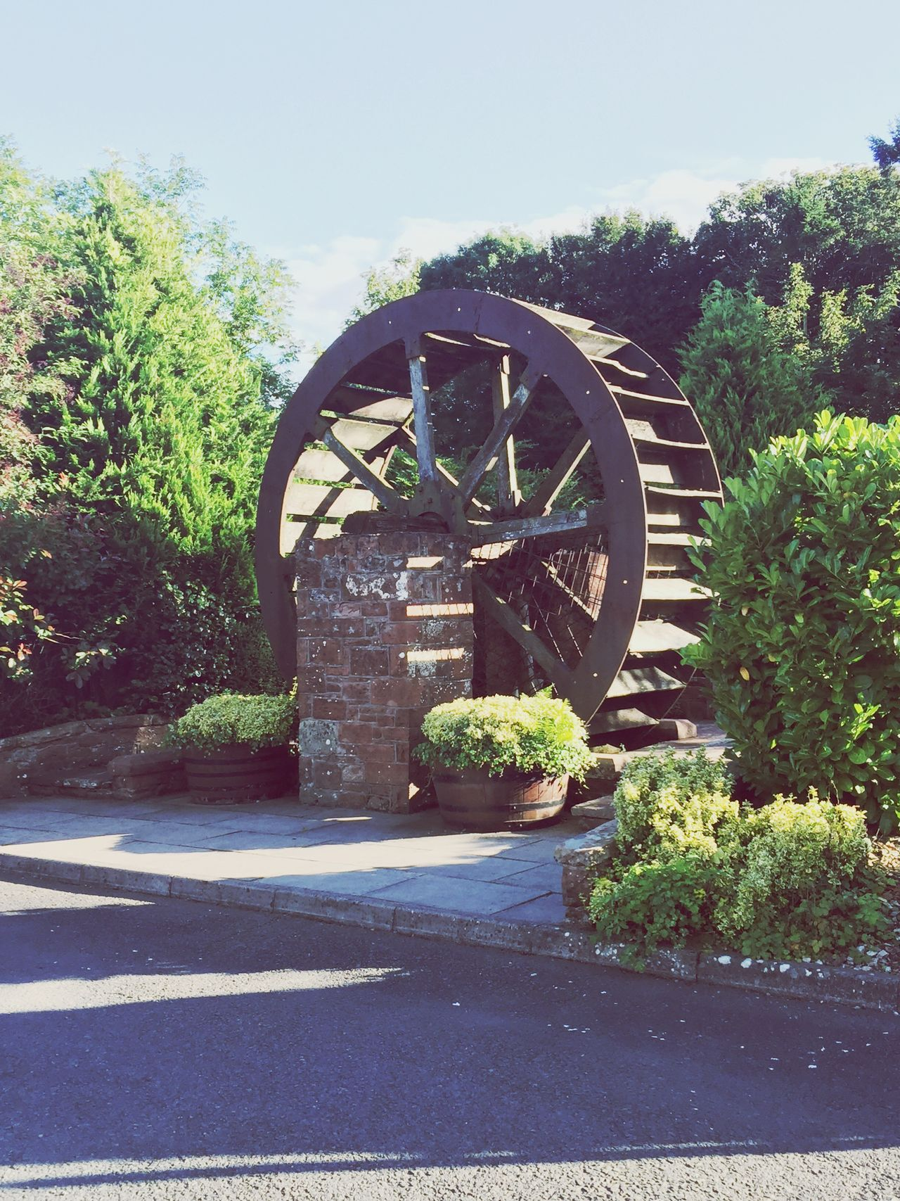 Architecture IPhoneography Taking Photos Nature_collection Iphonephotography Sunshine ☀ Eye Em Scotland Eyeem Scotland  Mill Forge Wheel Man Made Object