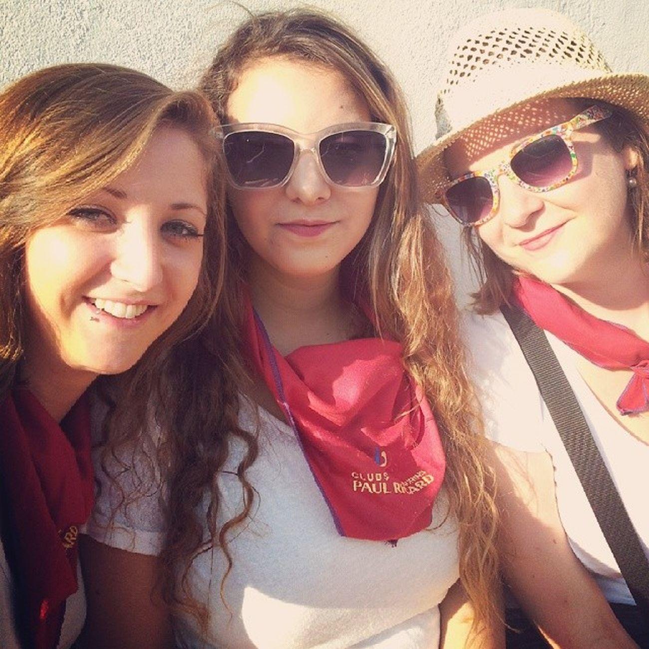 @miimy33 FeriaBayonne FeriaBayonne2014 Feria Bayonna bayonne selfie friends girls