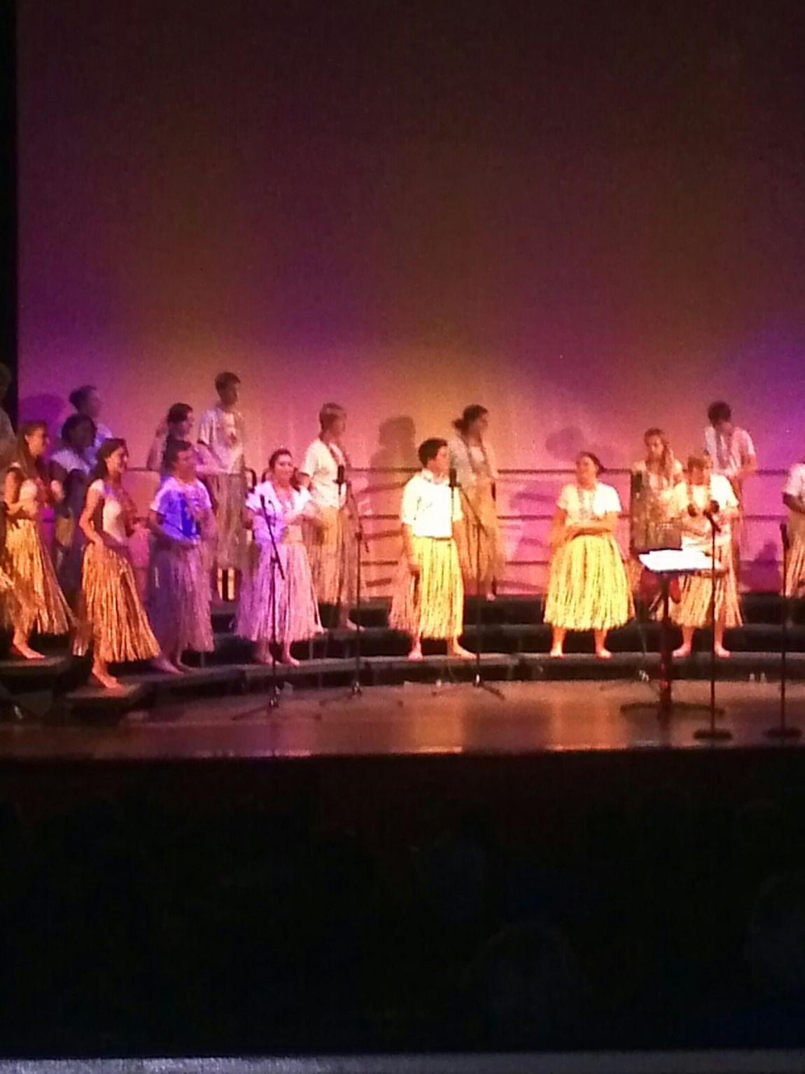 Dakota Xmas, Hawaiian Xmas Dance Enjoying The View School Choir Reeths Puffer