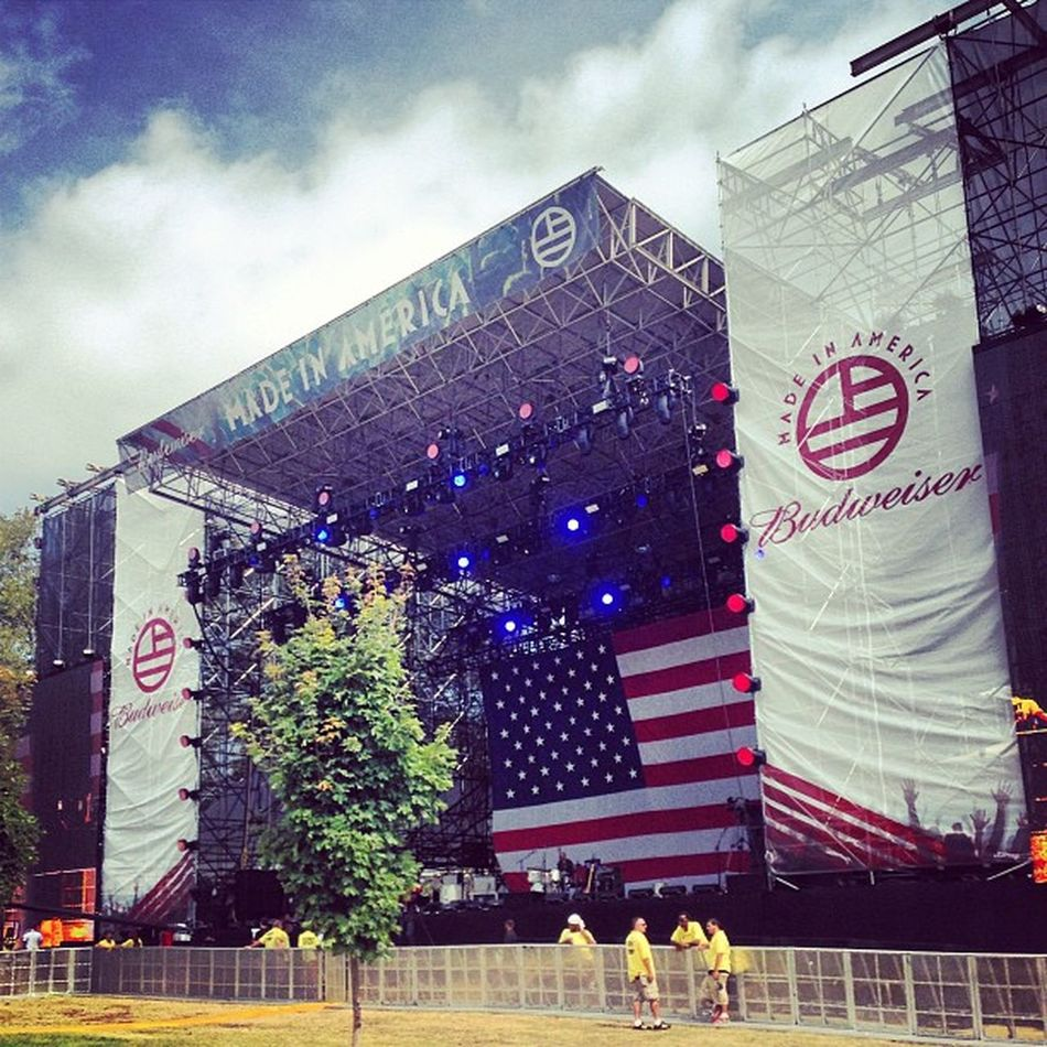 A great day in philly. Madeinamericafestival