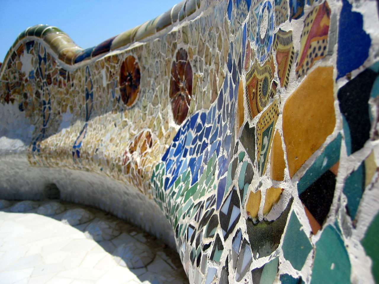Barcelona Close-up Day Gaudi Nature No People Outdoors S Sea Sky Water