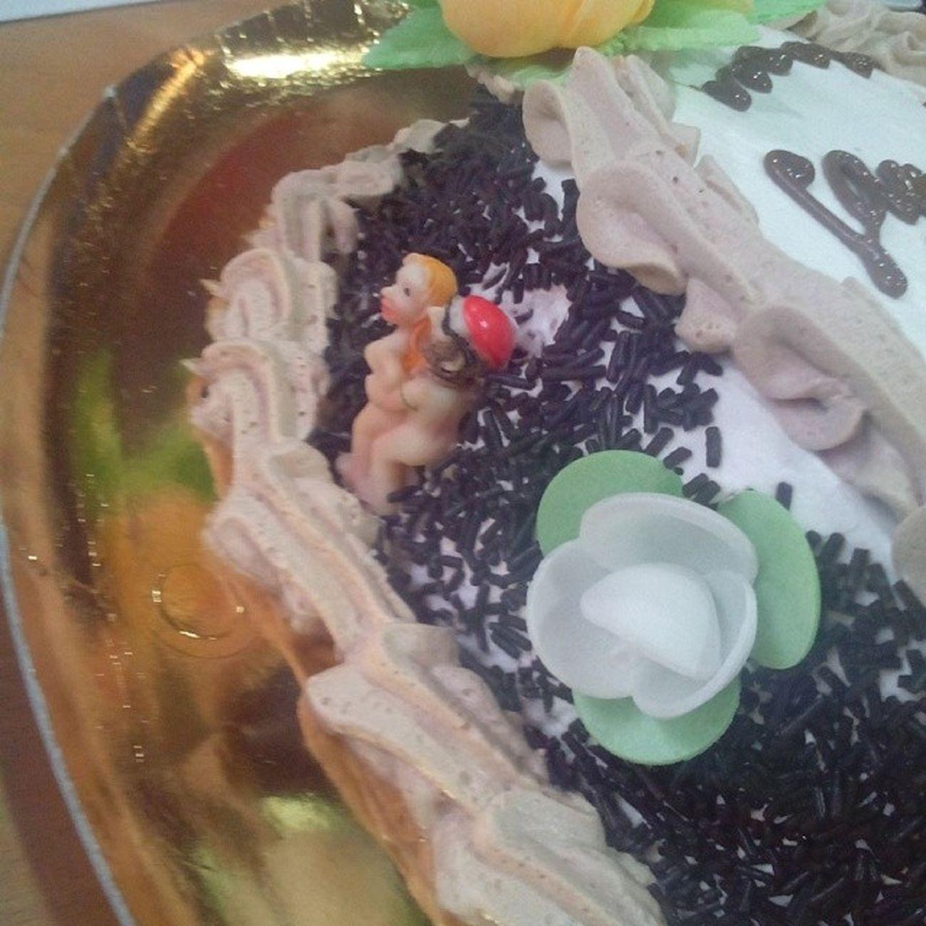 Original tarta de cumpleaños....