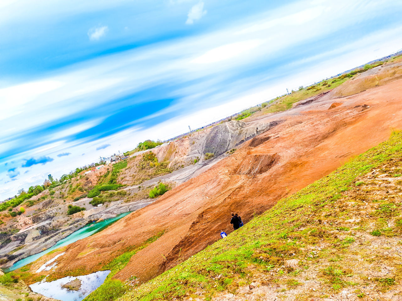 Found a quarry behind Bedworth Landscape Nature Outdoors Multi Colored Quarry Cloud - Sky Scenics Beauty In Nature No People Rural Scene Sunlight Travel Destinations Desert Sky Sand Dune Close-up Day EyeEmNewHere The Great Outdoors - 2017 EyeEm Awards The Street Photographer - 2017 EyeEm Awards Hiking One Person Mountain Adventure First Eyeem Photo First Eyeem Photo