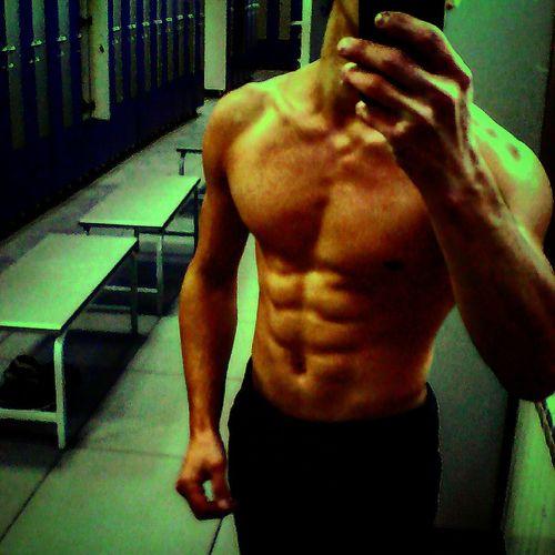 Sports Training Lifestyles Sport Men Gym One Man Only Human Body Part Only Men Sportsman