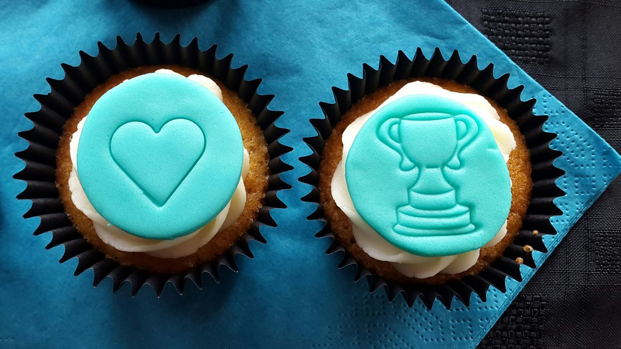 The OO Mission The Oo Challenge The 00 Mission Cupcake Cupcakes Love Heart Winner