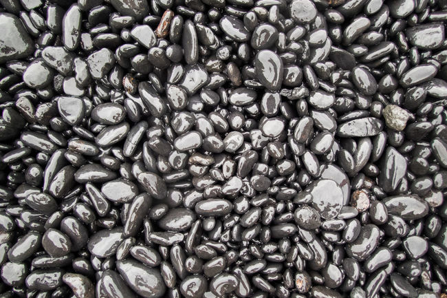 Backgrounds Black Close-up Full Frame Hawaii Large Group Of Objects Pattern Pattern, Texture, Shape And Form Pebbles Pebbles And Stones Pebbles On A Beach Shiny Stones Stones And Pebbles Waianapanapa Waianapanapa State Park Wet