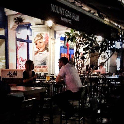 Night out. Bar - Drink Establishment Two People Happy Hour Drink Night Nightphotography Streetphotography Street Photography City Life EyeEm Gallery Open Edit OpenEdit EyeEm Best Shots Check This Out Taking Photos Light And Shadow Shadows & Lights First Eyeem Photo