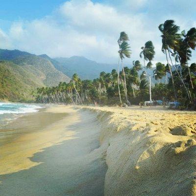 Choroni again Beach Choroni Venezuela_es Streetphotovenezuela Playa Playita Surfing Surf