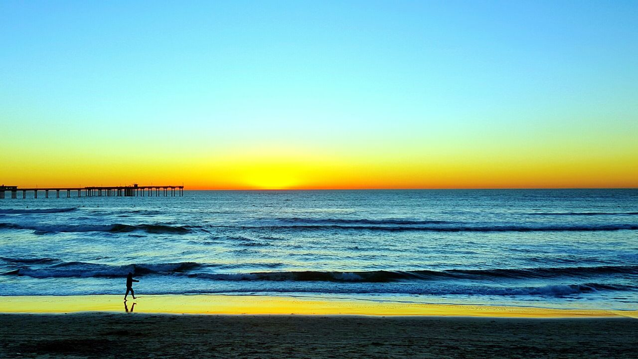 Sunset Beachphotography Sandiego SoCal Beautiful Myperspective Livelaughlove♡ Beach Saltlife Aweinspiring OceanBeach Vacation Traveling Happy :)