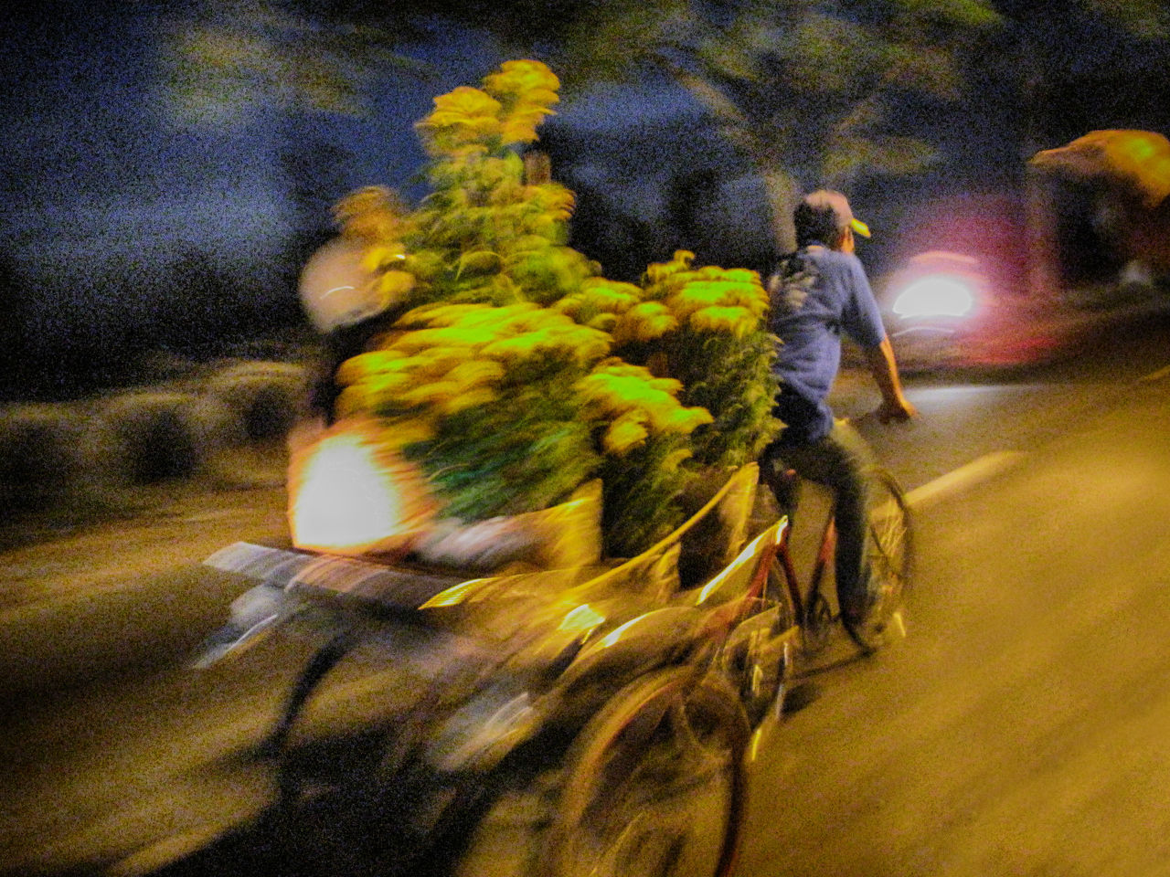 Blurred Motion Boys Casual Clothing Childhood Flowers Full Length Leisure Activity Lifestyles Men Motion Mouvement Mouving Night Person Speed No Filter, No Edit, Just Photography Street Transportation Tricycle My Commute The Street Photographer - 2016 EyeEm Awards Photography In Motion Blurred In Motion Need For Speed The Following