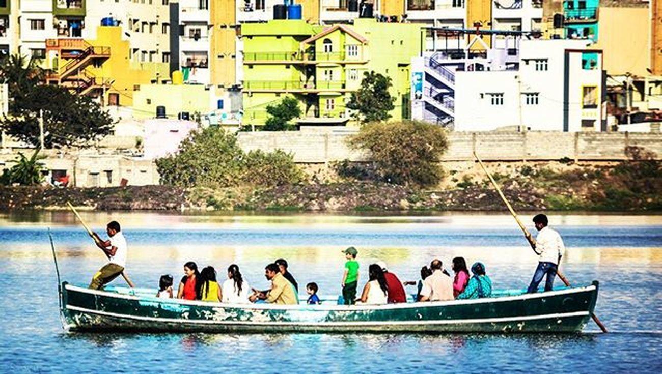Nature Naturelovers Boat Boats Boatrides Ig_nature Ig_naturelovers Flamingoes Madivalalake Reflection Vscocam VSCO Nikonindiaofficial Nikon Ig_captures Blue Ig_bangalore