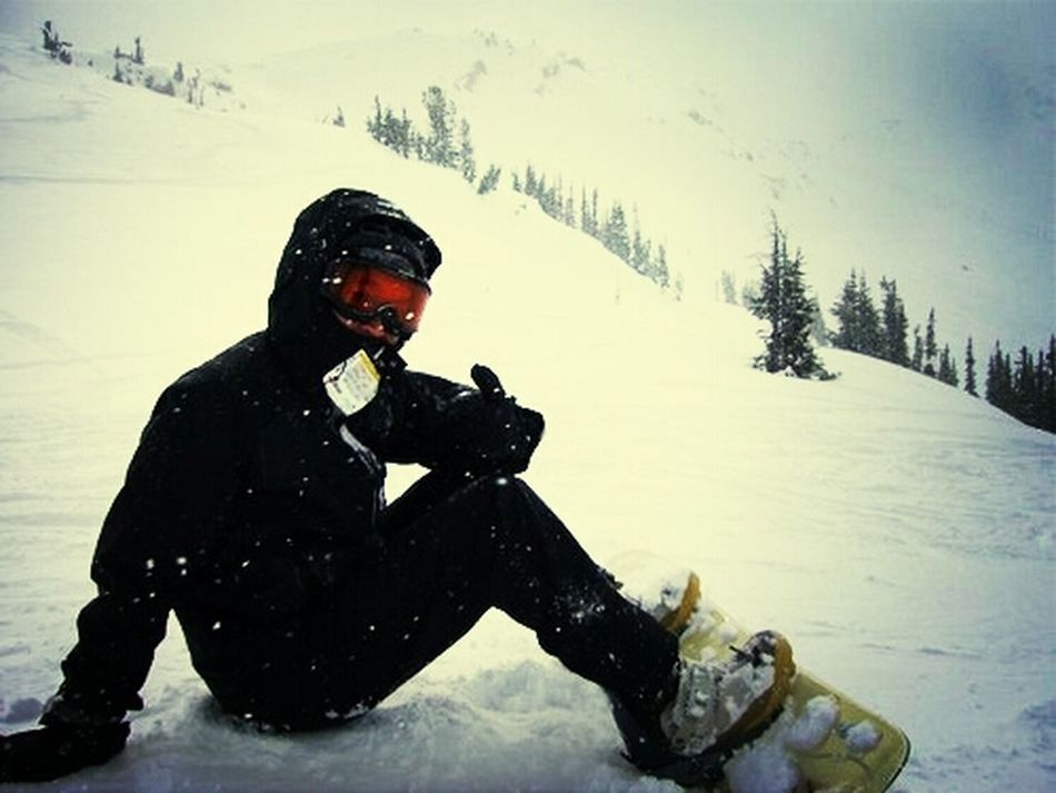 Snowboareding With Friends
