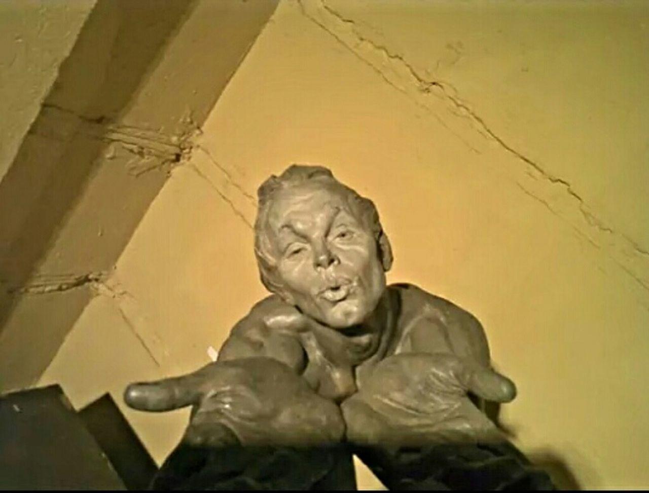 Sculptures of Richard McDonald Barcelona European  Museum Modern Art Meam