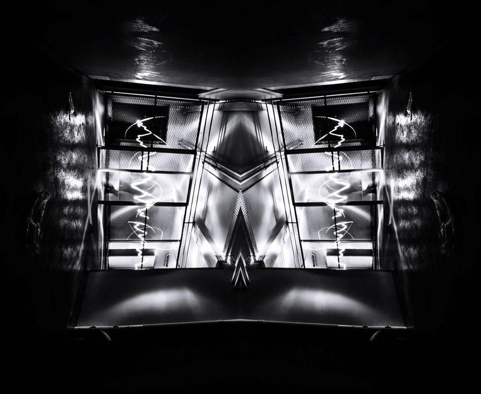 The prisoner 2016 Light And Shadow Lightpainting Symmetry Blackandwhite Blackandwhite Photography Symmetrical Urbex Urbexexplorer Exploring Black White Light Dark Darkness And Light Prison Jail Nikon Nikonphotography Wide Shot Sigma10-20 Sigma Photographylovers Photography Pics D7100