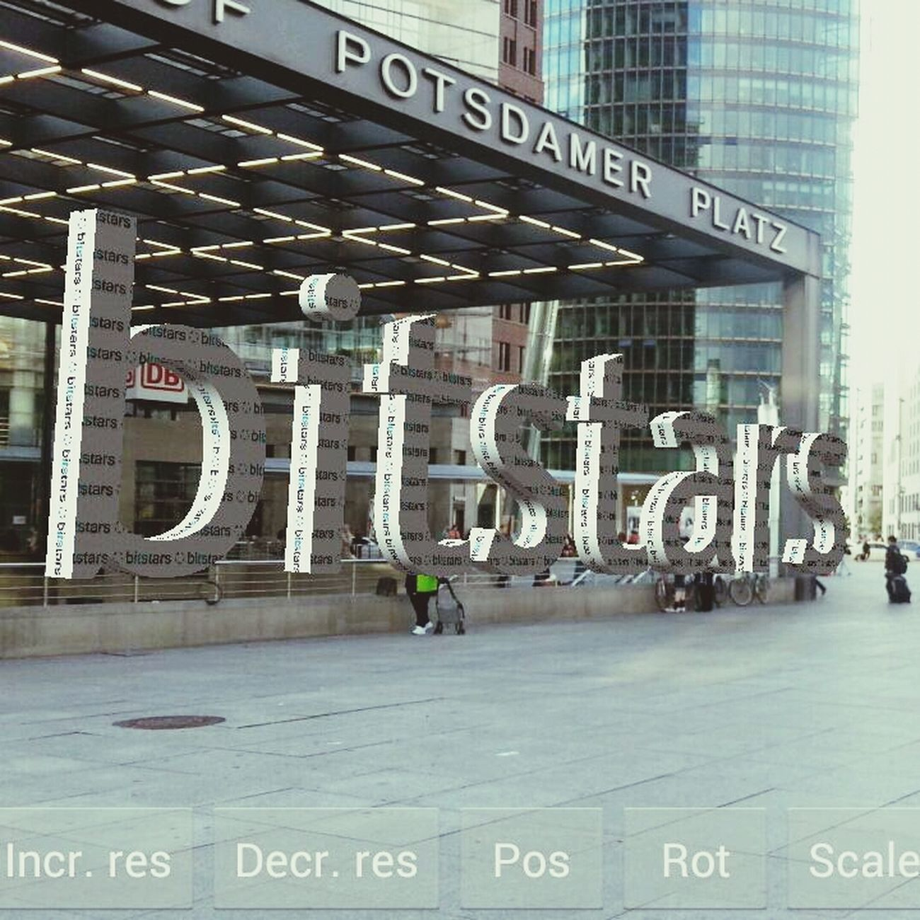 Bitstars Berlin Mtc13 Augmented Reality ar potsdamerplatz