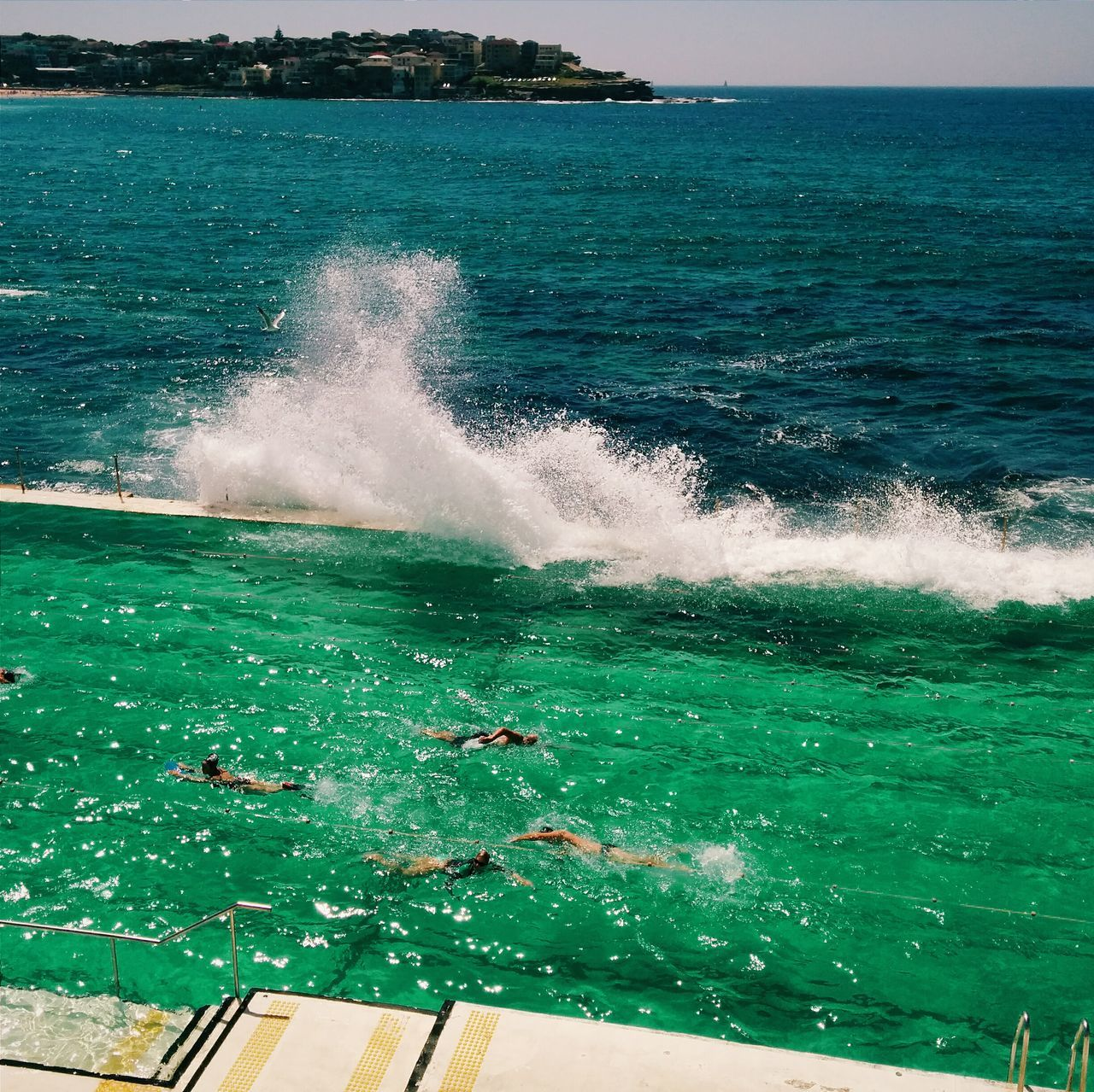 Emerald green water ? Swimming Ocean Tadaa Community EyeEm Best Shots
