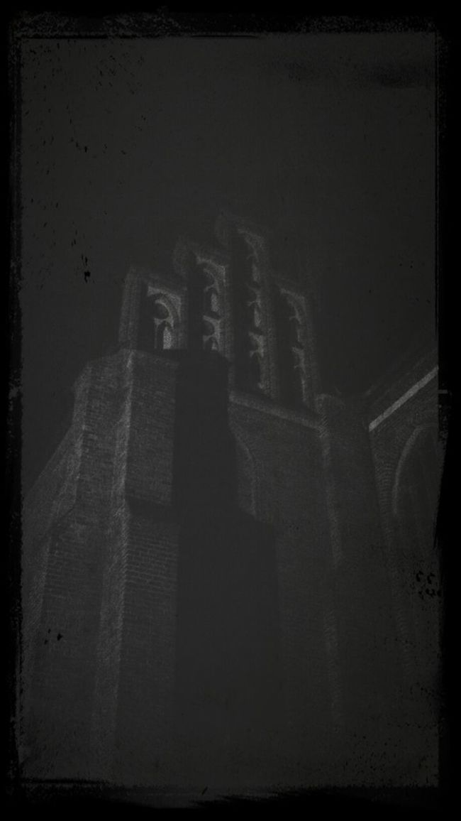 Nightphotography Ghosts After Midnight Old Church