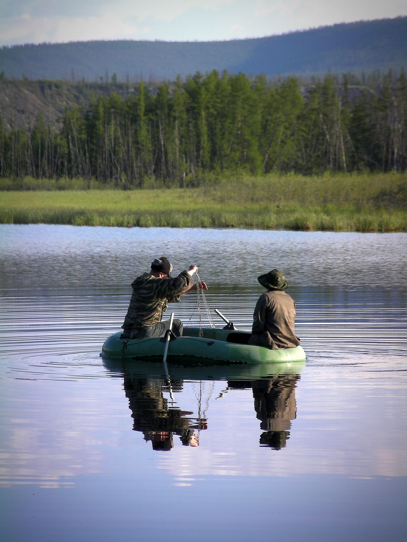The Adventure Handbook Yakutia Ynykchan Check This Out Taking Photo Fishing Enjoying Life Trip Water Reflections On The River Nature