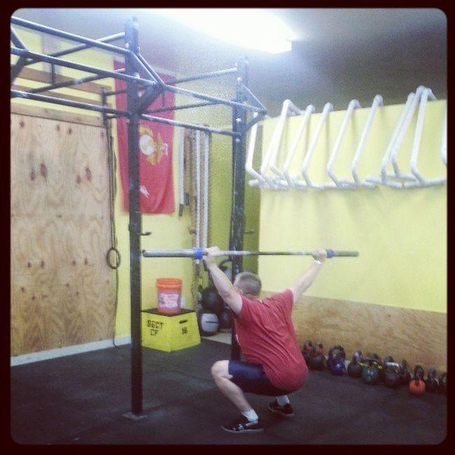 SergeantSlim first Instagram post. Getting workout 2 about to begin. Liftheavy