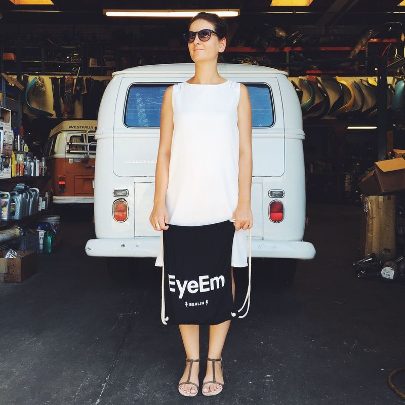 EyeEm Bag Travels The World - Today: an vintage car repair shop in California