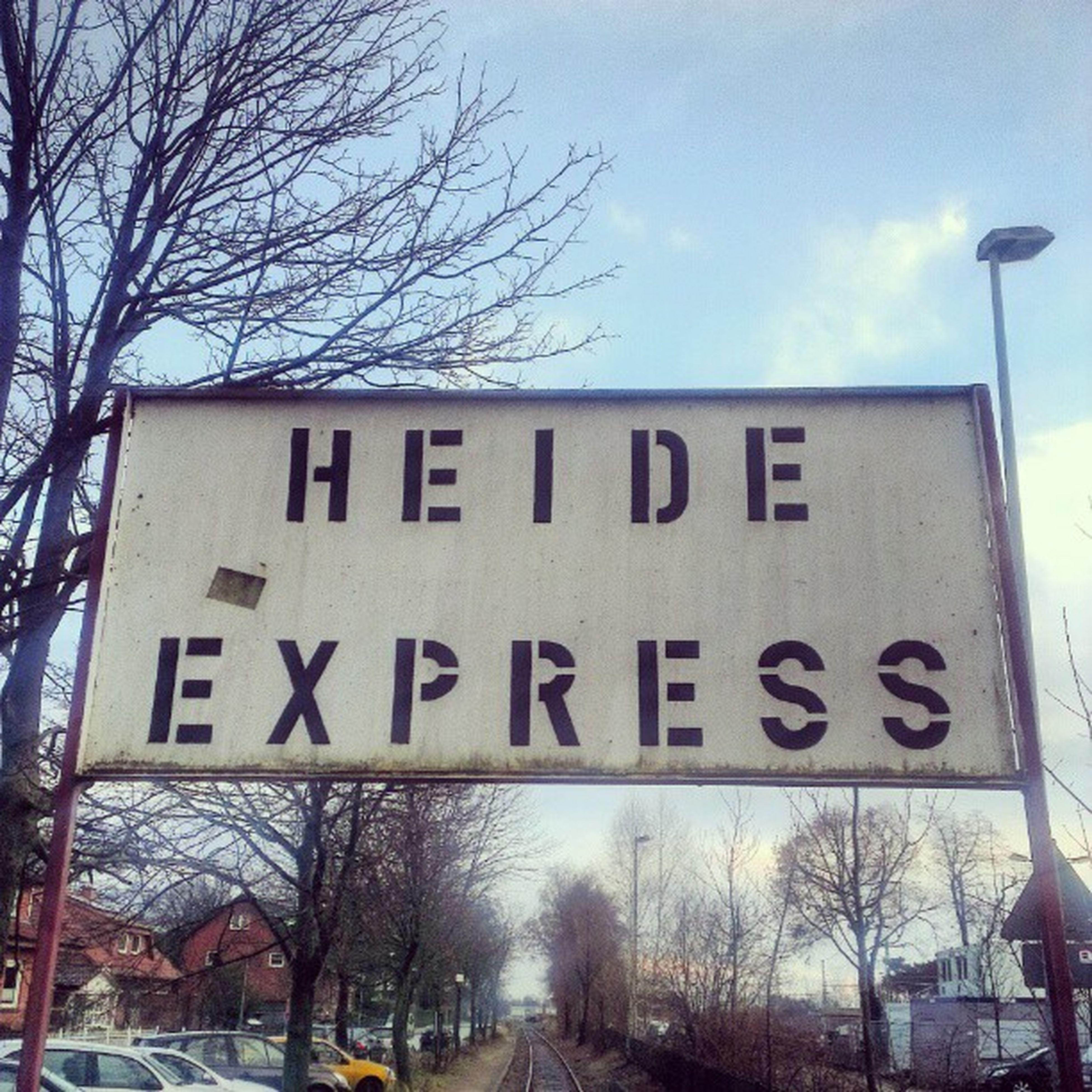 Ob der noch fährt? Heideexpress