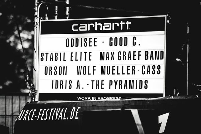Carharrt Festival Season Open Source Festival  Duesseldorf