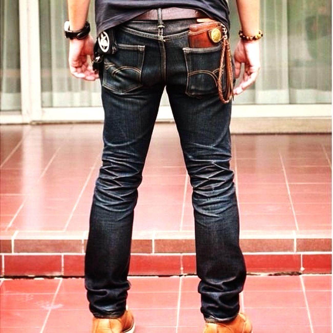 Theflathead WorkWear Vintage Jeans Manstyle Japandenim Samuraisiamshop Momotarocustompocket Bangkok Thailand. WalletLeather