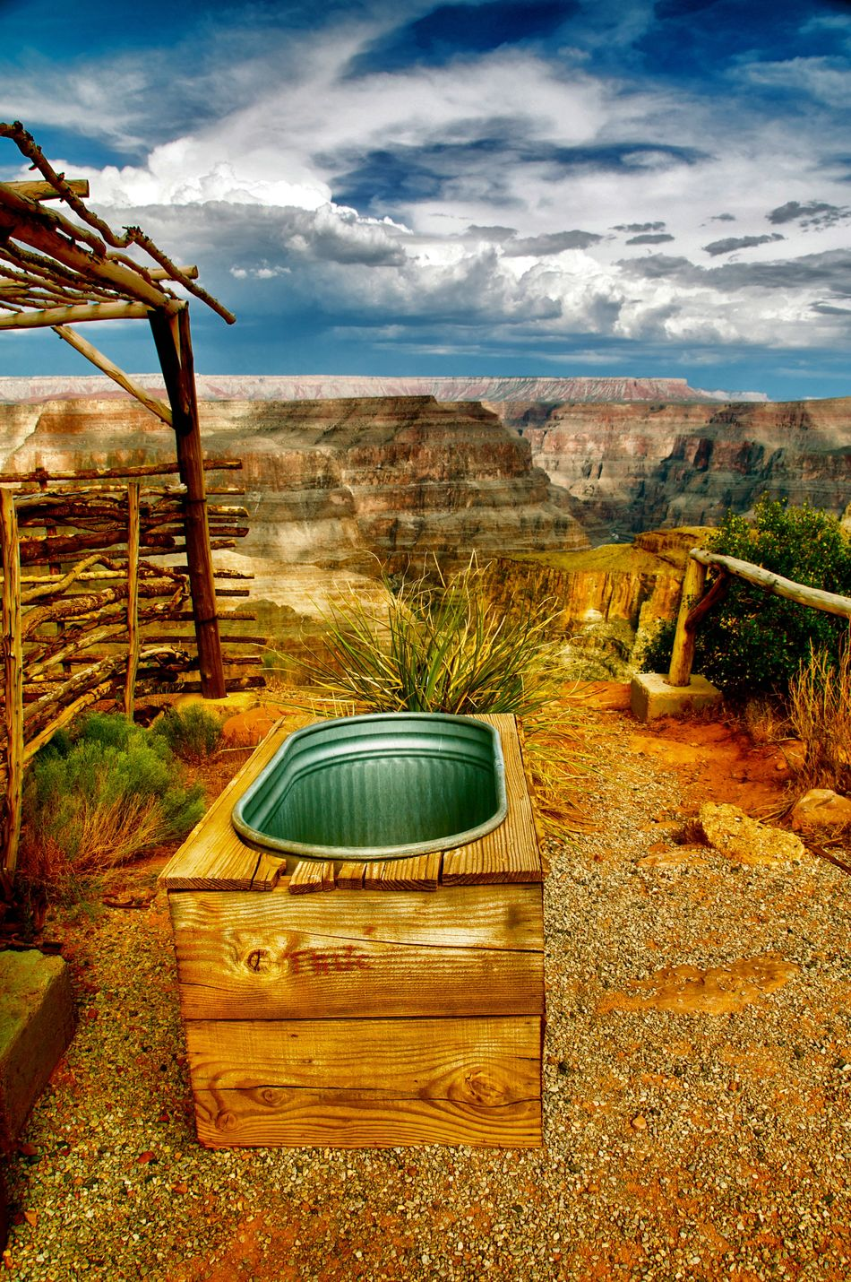 Sky Cloud - Sky Sea Scenics Water Vacations No People Outdoors Swimming Pool Beauty In Nature Nature Beach Day Travel Photography Travel Destinations Iconic Landmark Grandcanyonwest Grandcanyon