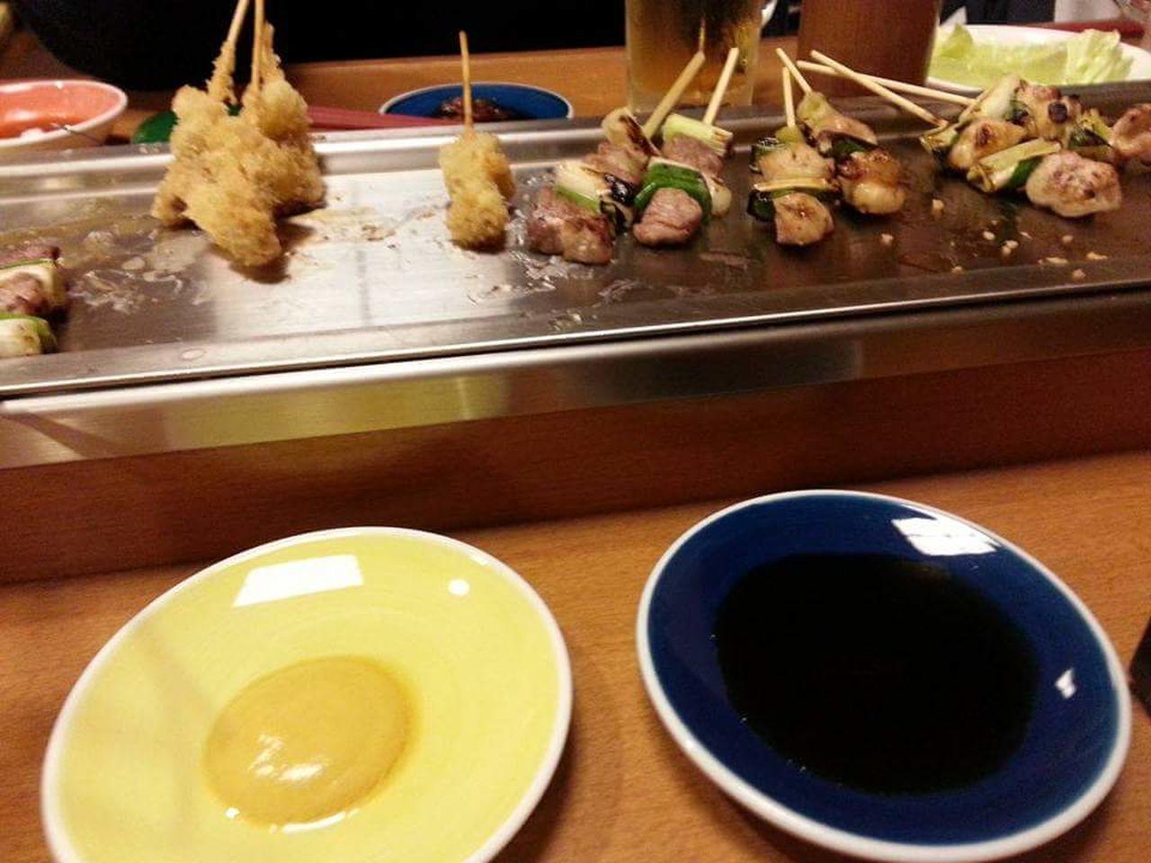 串焼きパーティー Food And Drink Freshness Indoors  Food Gourmet Healthy Eating Meal Lunchtime! Lunch! Dinner Dinnertime Dinner Time Yakitori Kushiyaki