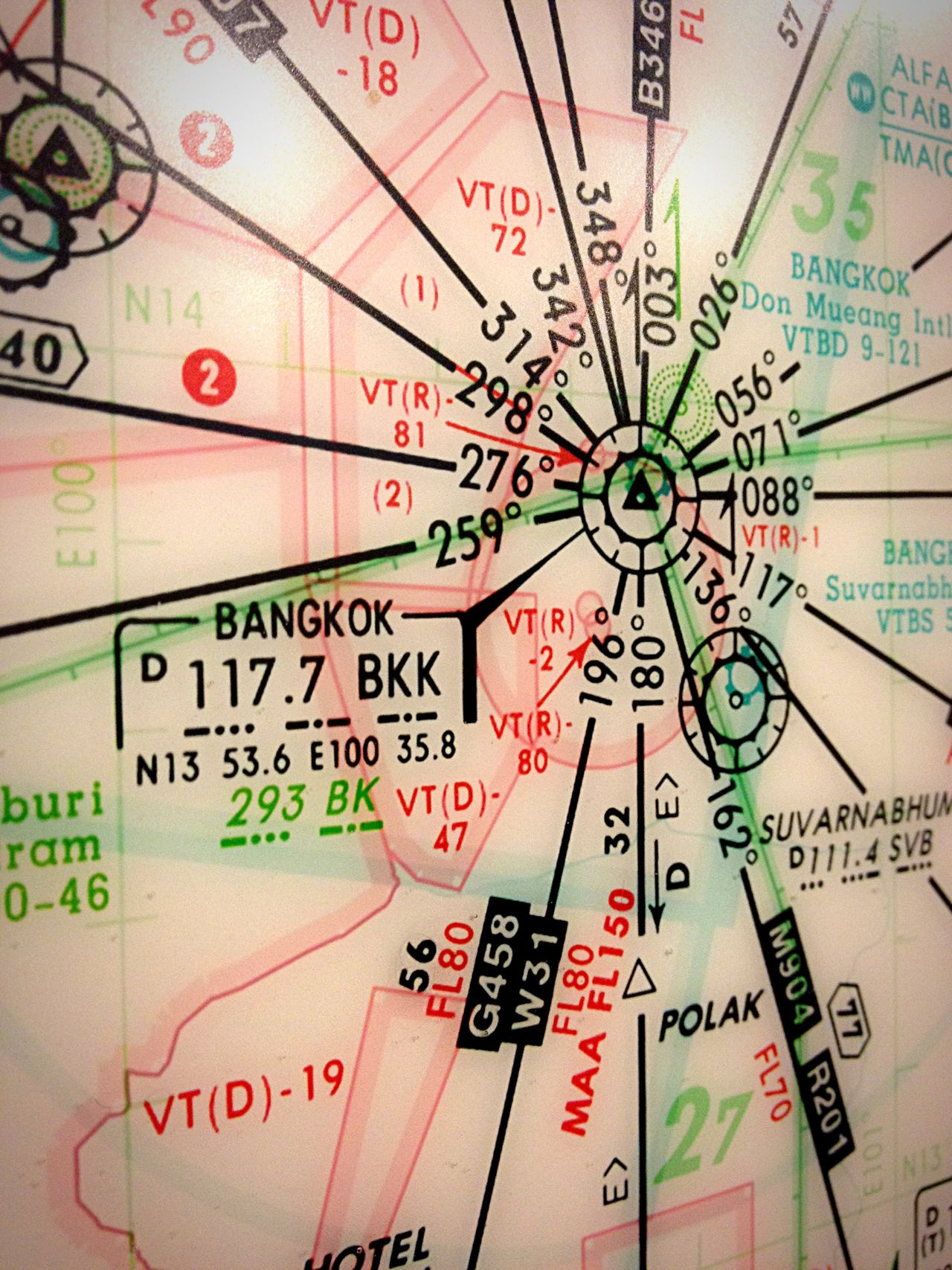 Communication No People Text Close-up Full Frame Map Day Thailand Bangkok Thailand. Bangkok Coordinate Latitude Longitude Flight Flight Mode Pin Code