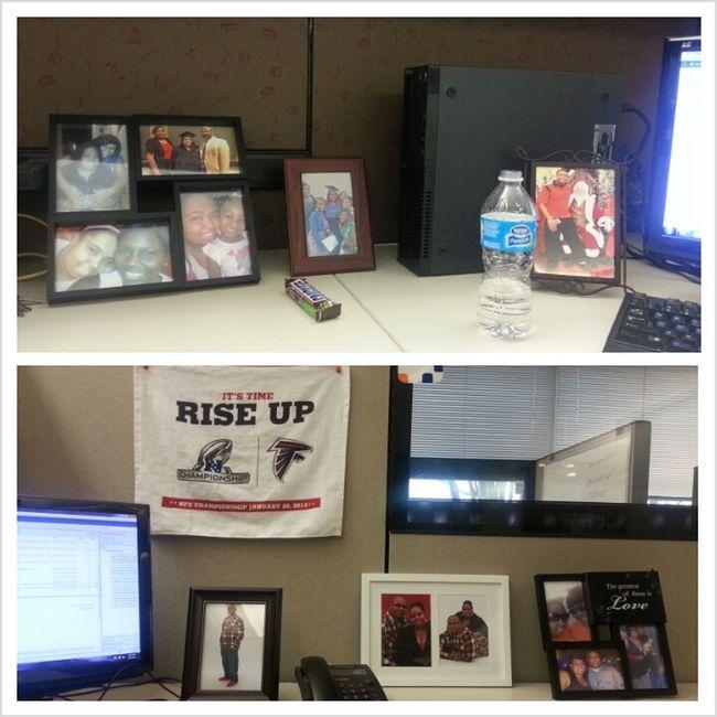 My Desk So Dead At Work Lol